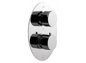 Vado Soho 3-way Wall Mounted Concealed Valve With Integrated Diverter