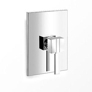Eau X-el Square Chrome Concealed In Wall Bath Shower Manual Mixer Valve - SALE